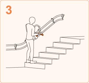 階段を上がる時|ステップ3