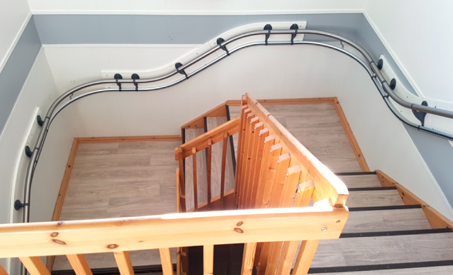階段設置例4